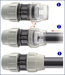 *Assembly Instructions* - Plasson Compression - Installation Instructions for Fitting 75mm-110mm (Series 87)