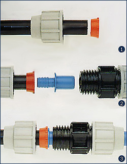 *Assembly Instructions* - Plasson Compression - Imperial Polythene Pipe Adaptor