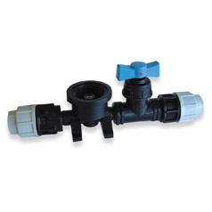 Plasson Manifold Assembly for NS Meterbox 3513 Screw Down Valve