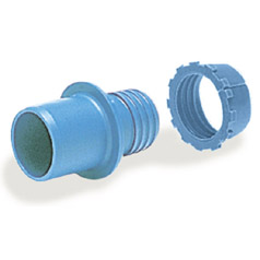 Plasson Heavy Gauge Adaptor IRS 134:1977 (Pale Blue)
